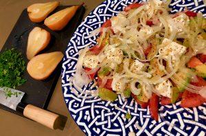gnocchi-gorgonzola-sallad